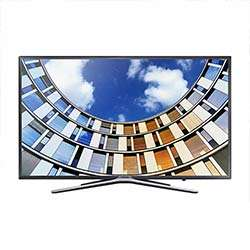 Samsung 123 cm (49 inch) Full HD LED Smart TV (UA49M5570, Black)