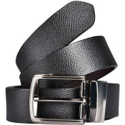 High Quality Leather Reversible belt for Men Gents at lowest price - Black/Brown