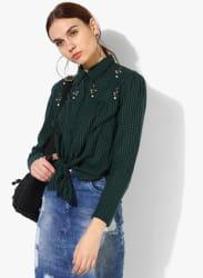 Green Checked Shirt