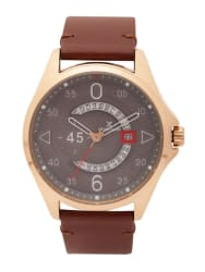 Daniel Klein Premium Men Grey Analogue Watch DK11485-6