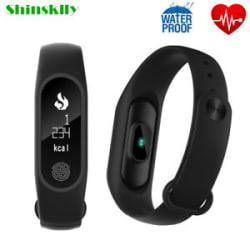 M2 Plus Fitness Tracker Smart Bracelet Heart Rate Calorie Tracker Pedometer