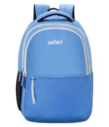 Safari Branded Backpack Laptop Bag College Bags Blue Split (27 Litres)