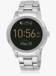 Q Founder Ftw2116 Silver/Black Gen 2 Smartwatch