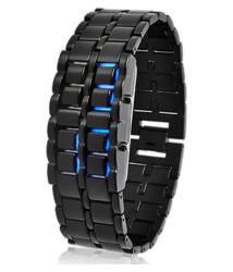 Meher Collection LED Bracelet Watch With Blue Light For Boys