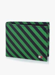 Niagara Green With Strip Leather Wallet