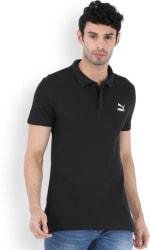 Puma Solid Men s Polo Neck T-Shirt