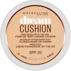 Maybelline Dream Cushion Liquid On-the-go SPF 20 Foundation(Sand - 30)