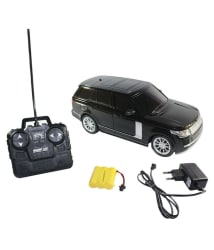 Fantasy India Black Remote Control Rechargeable Range Rover Toy Car