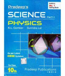 PRADEEP SCIENCE PART 1 PHYSICS CLASS 10