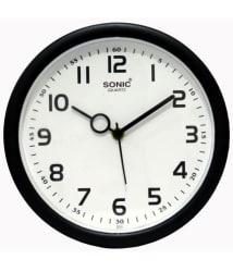 Junos Circular Analog Wall Clock 18 cms - Pack of 1