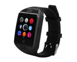 Q18 Bluetooth Smart Watch with Camera Support SIM Card & TF Card Pedomet