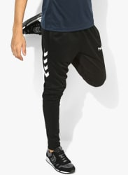 Core Black Track Pants