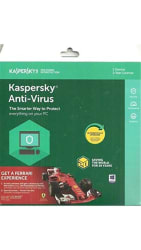 Kaspersky Antivirus Software 2017 (1 User/1 Year)