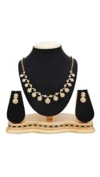 Sukkhi Stylish Gold Plated Collar Necklace set For Women