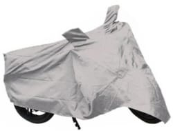 Quick N Easy Two Wheeler Cover for Royal Enfield(Classic 350, Silver)