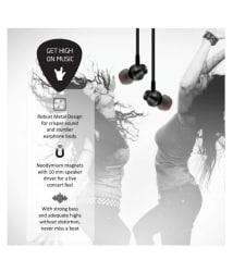 Envent Beatz 307 In Ear Wired Earphones With Mic