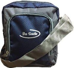 Da Tasche Navy Blue Sling Bag