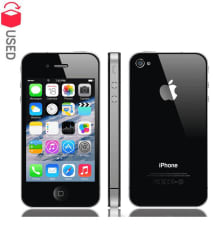 CERTIFIED USED Apple iPhone 4s 16GB Black RAM- 512 MB ( 6 Month Seller Warranty )