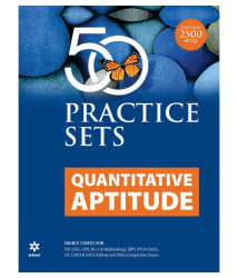 50 Practice Sets Quantitative Aptitude Paperback English 2016
