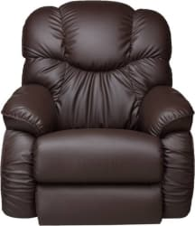 La-Z-Boy Dreamtime Leatherette Manual Rocker Recliners (Finish Color - Brown)