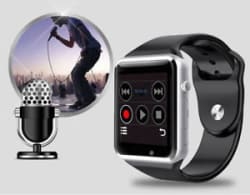 A1 Bluetooth Smart Watch - Camera & Sim Card Slot for Apple iOS & Android Phones