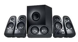 Logitech Z506 Surround Sound 5.1 multimedia Speakers (Black)