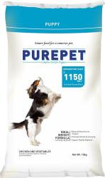 Purepet Chicken and Veg Puppy Dog Food 10 Kg