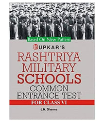 Rashtriya Military School Common Entrance Test (For Class Vi) Paperback (English)