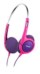 Philips SHK1031 Headphone (Pink/Purple)