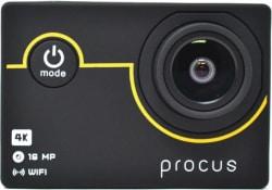 PROCUS Rush 4K Sports and Action Camera (Black 16 MP)