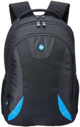 HP 15.6 inch Expandable Laptop Backpack Blue, Black