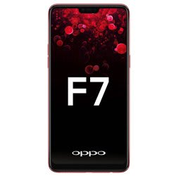 Oppo F7 (Red, 64 GB, 4 GB RAM)