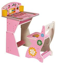 Sunbaby Student Desk (Pink)