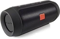 FIADO Charge 2+ Stereo Sound Bluetooth Mobile/Tablet Speaker (Black)