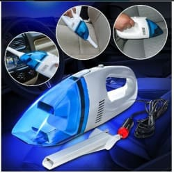 60W Mini 12V Car Vacuum Cleaner- Portable Lightweight High Power Handheld for Wet/Dry Dust