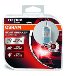 Osram H7 P64210 Night Breaker Unlimited NBU Duo Box (12V, 55W)