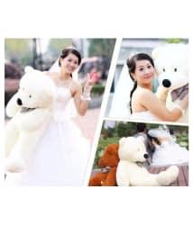 3.5 feet teddy bear,love,gift,velentine day,girlefriend,for kids,chrismas,big