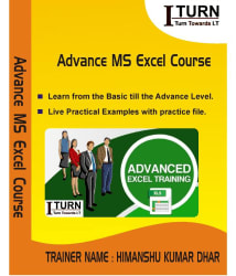 Professional Advance MS Excel Training (Basic + Advance) DVD