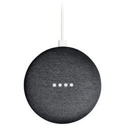 Google Home Mini Bluetooth Speaker (Black)