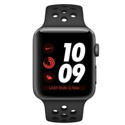 Apple Watch Nike+ GPS 38 mm Space Gray Aluminum Case with Anthracite/Black Nike Sport Band