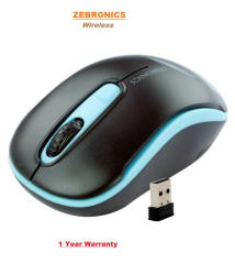 Zebronics DASH Wireless Optical Gaming Mouse (Black)
