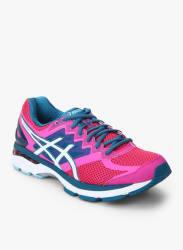 Lady Gt-2000Newyork4 Fuchsia Running Shoes