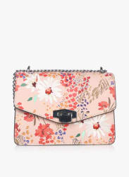 Daisy Nude Floral Print Sling Bag