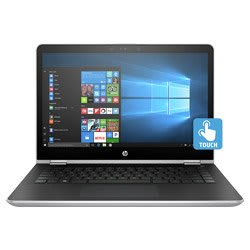 HP x360 14-ba077TU Core i3 7th Gen Windows 10 Laptop (4GB, 1TB HDD, 14 In, Silver)