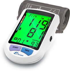 Dr. Morepen BP-16 Colored Display Bp Monitor (White)