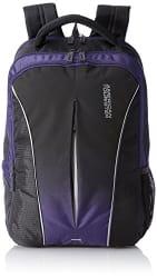 American Tourister Polyester 32 Ltrs Purple Laptop Backpack (AMT Juke Laptop BKPK 02-Purple)