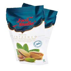 Food Studio Pistachio Nut (Pista) 500 gm Pack of 2