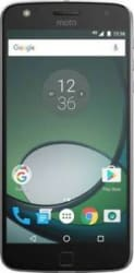 Moto Z Play with Style Mod Black 32 GB ROM 3 GB RAM-Certified Refurbished-Good