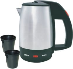 Inalsa Matrix Electric Kettle 0.5 L, Black, Silver