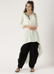 Off White Kurta Salwar Set